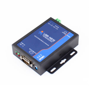 USR-N510 -RS232/RS485/RS422 Single Serial Ethernet Converter