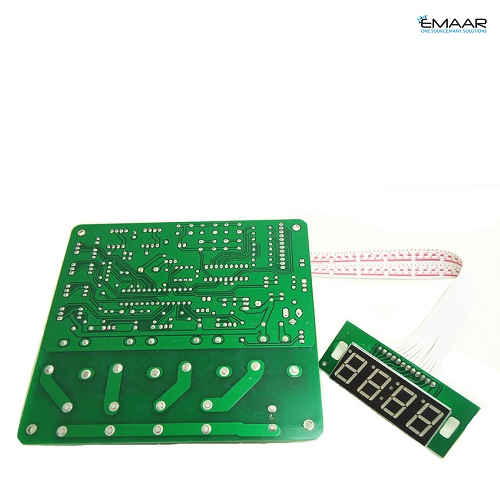 JY-21 4 digits coin operated timer board for 1-4 devices time control pcb