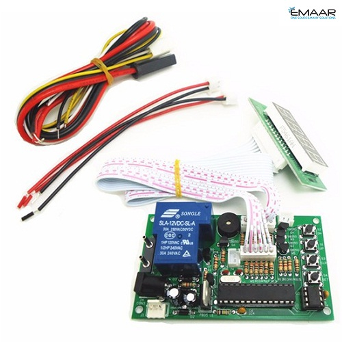JY-15B 40cm white lead 4 digits Time Control Timer Board for Power Supply