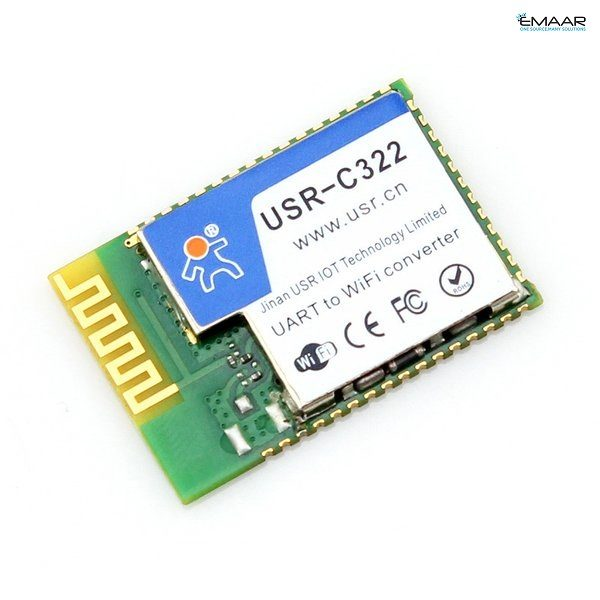 USR-C322 Industrial Low Power TI CC3200 WiFi Modules